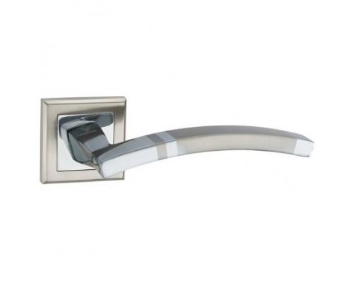 Ручка дверная Lockit Анкона SN Белый никель