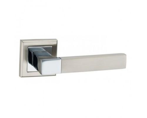 Ручка дверная Lockit Бари SN Белый никель