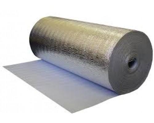 Подложка из вспененного полиэтилена с фольгой 3 мм